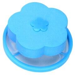 Удаление волос Catcher фильтр сетчатый мешок очистка шарики мешок грязного волокна коллектор стиральная машина фильтр Прачечная шарики диски - Цвет: Blue B