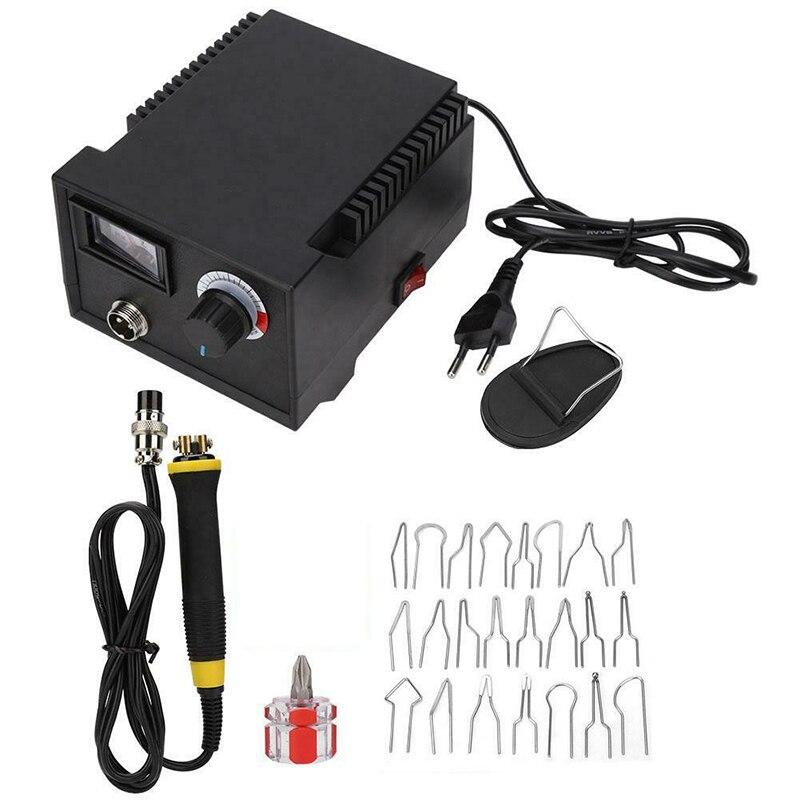 1 Set Durable EU/US/UK Plug LH40-Z Pointer Display Pyrography Machine Pyrography Pen & Tips Kit Electric Soldering Irons