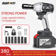 Speed-Tool Electric-Wrench Cordless High-Torque 380n.m Li-Ion-Batteries 30000mah Vehicle-Repair