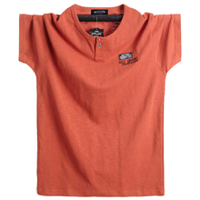 حجم كبير 5XL 6XL الرجال كبير طويل القامة تي شيرت قصيرة الأكمام المتضخم T قميص القطن الذكور كبيرة المحملة الصيف صالح تي شيرت الصيف بلايز تيز