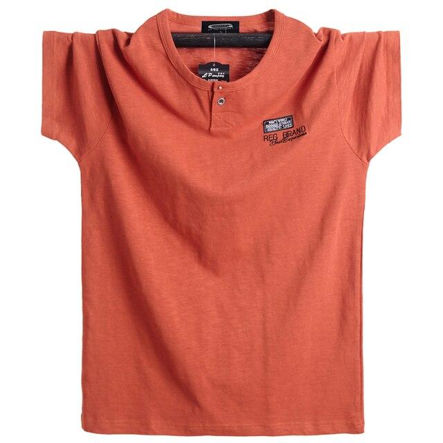 Além de tamanho 5xl 6xl homens grande altura camiseta mangas curtas oversized t camisa de algodão masculino grande t camisa de verão apto t verão topos t