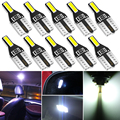 10 шт. T10 W5W Светодиодная лампа Автоматическая внутренняя светодиодная подсветка светильник для Volvo S40 S60 S80 XC60 XC90 v70 S80L V6 v40 v50 850 c30 v60 s70 940 xc70