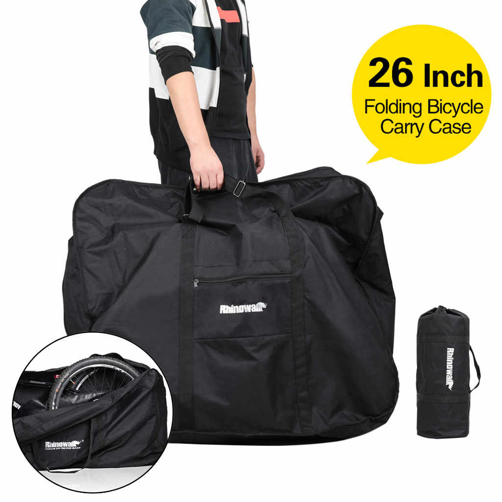 Heavy Duty Bike Travel Bag Case Thick Bicycle Folding Carry Pouch Storage