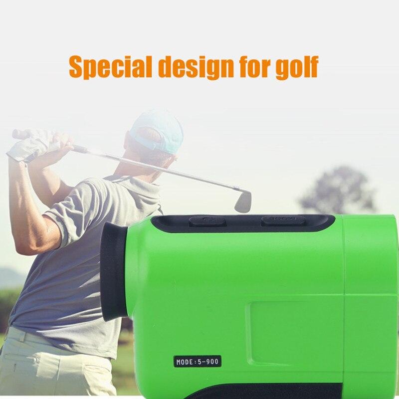 Golf Laser-entfernungsmesser 600M 900M 1200M 1500M Laser Abstand Meter Golf Hang Camp Jagd Eingestellt Modus sport Laser Abstand