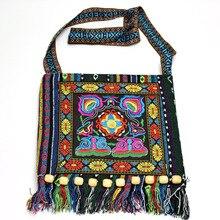 Voor iPhone 7 8 6 x Plus telefoon tas geborduurd etnische telefoon tassen vrouwen handtas String Tas Voor Samsung Galaxy s8 S9 note 9 8