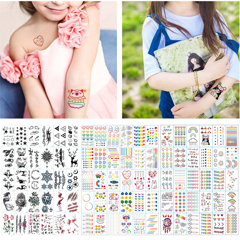 30 Sheets Cartoon Waterproof Temporary Tattoo Stickers For Kids Children Boys Girls Birthday Festival Party Favors Rewards