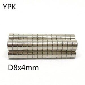 10 20 50 шт./лот NdFeB магнит 8*1 8*2 8*3 8*4 N35 дисковый магнит 8x1 8x2 8x3 8x4 круглые магниты для динамиков|Магнитные материалы|   | АлиЭкспресс