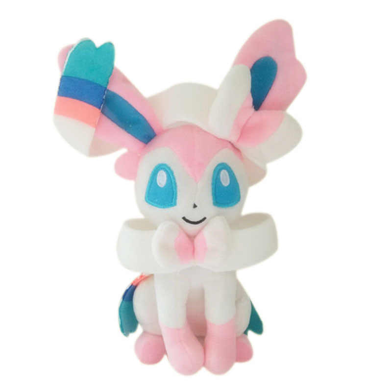 Sylveon Plush Doll Eevee GX EX Figure Stuffed Toys 18CM 1