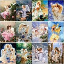 5d алмазная живопись «сделай сам» картина ангела девушка пейзаж