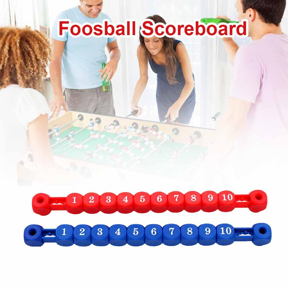 2pcs/set Football Scoreboard Table Football Score Counter 10 Numbers Scoring Score Counter Indicator Soccer Tables Accessories 1