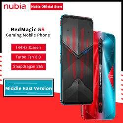 Nubia Red magic 5S версия Ближнего Востока 24 Вт адаптер Nubia Redmagic 5S игровой смартфон Redmagic 5S Snapdragon 865