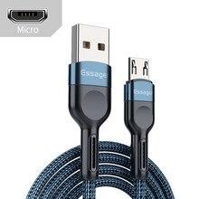 3a 2m micro usb cabo de carregamento rápido do telefone móvel android carregador microusb cabo de dados para huawei xiaomi redmi trançado cabo de fio