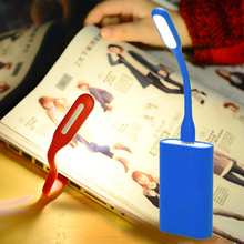 Mini Portable 5V 1 2W Super Bright Book Light For Laptop Bank For Power PC Computer 9 colors USB Night Lighting Cheap Lamp 1pc cheap TSLEEN CN(Origin) NONE LED Bulbs EB3692 Mini USB LED Light As the pictures shown Silicone Cool white About 17cm 6 6 led lamp usb