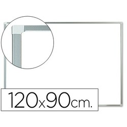 SLATE WHITE Q-CONNECT MELAMINE MARCO ALUMINUM 'S 120X90 CM