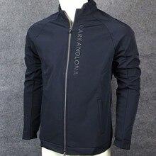 Череп молния Гольф Марка Lona куртка спортивная одежда для игр длинный рукав сохраняет тепло Гольф тренировочная куртка для мужчин