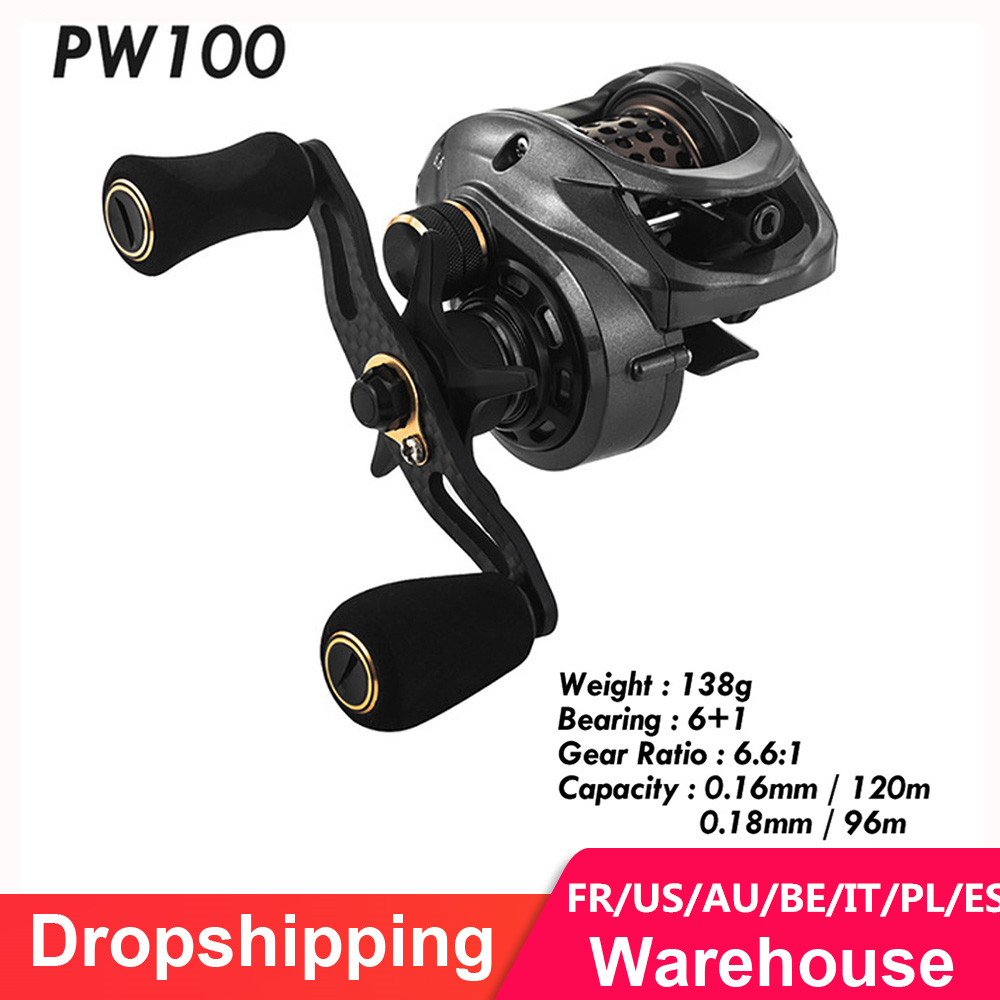 Fishband Baitcasting Reel GH100 GH150 7.2:1 Carp Bait Cast Casting Fishing Reel For Trout Perch Tilapia Bass Fishing Tackle