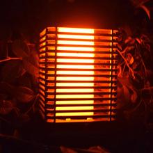 Światłoczuła lampa wisząca LED Solar ciepły płomień lampka nocna na zewnątrz na drzewo lampa do domowego ozdoby na zewnątrz dziedzińca tanie tanio alloet CN (pochodzenie) No Warranty Solar Hanging Lamp IP66 3 7 V iron Żarówki led Nowoczesne Bateria litowa