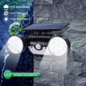 Image 5 - Luminária led de parede, para áreas externas, com sensor de movimento, 30 led, à prova d água, ip65, dupla, para pátio, garagem, rápido envio do frete