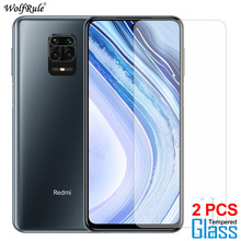 2Pcs Screen Protector For Xiaomi Redmi Note 9 Glass 9S 9 Pro Max Tempered Glass Protective Phone Film For Xiaomi Redmi Note 9S 2pcs frosted matte 9d tempered glass for xiaomi poco m3 x3 nfc f2pro redmi note 9 9s 9 pro anti fingerprint screen protector protective film