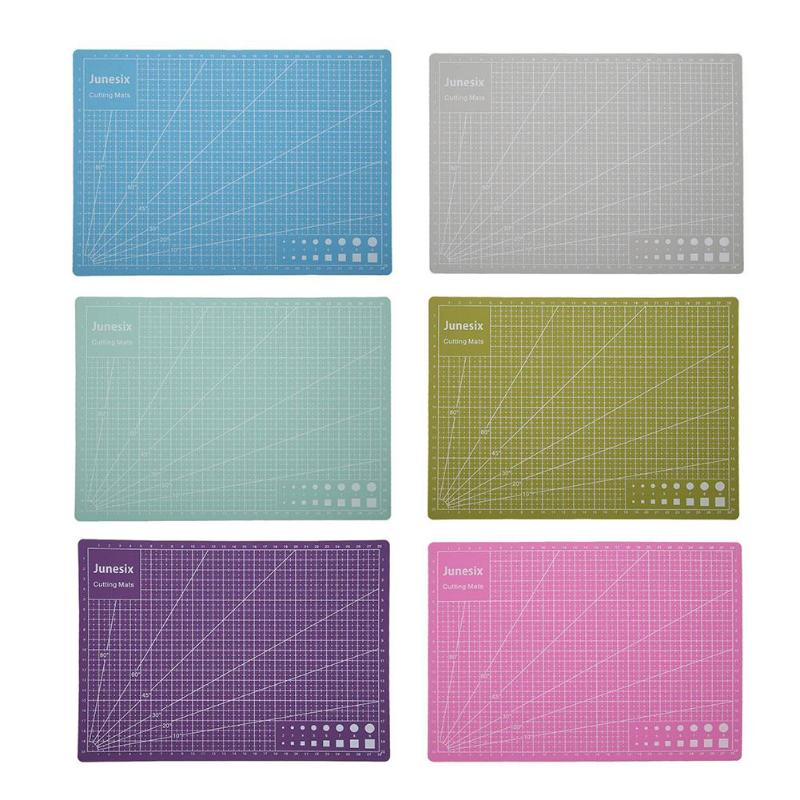 A5/A4/A3 PVC Self Healing Cutting Mat Fabric Leather Paper Craft DIY Tools Double-sided Plate Design Healing Cutting Board