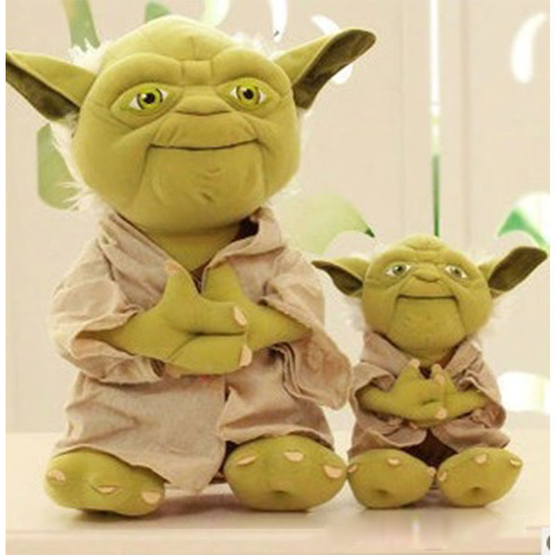 Disney Star Wars Baby Yodaing Children Plush Toys For Christmas Birthday Gift Cute Star Wars Wisdom Master Kid Stuffed Toy