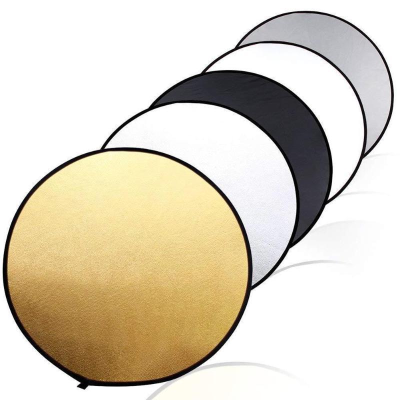 5-в-1 уникальный светильник, отражающая сумка для хранения на молнии, легко переносится, фото, складной диск, аксессуары для фотосъемки
