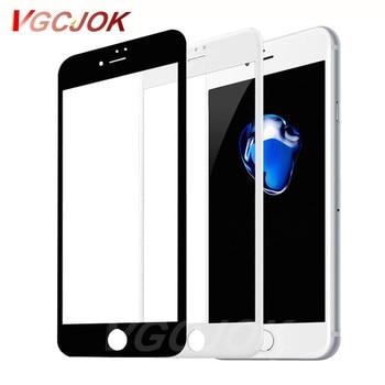 Перейти на Алиэкспресс и купить 9D Защитное стекло для iPhone 6S 6 7 8 plus X Xs закаленное защитное стекло для iPhone 7 8 x защитная пленка