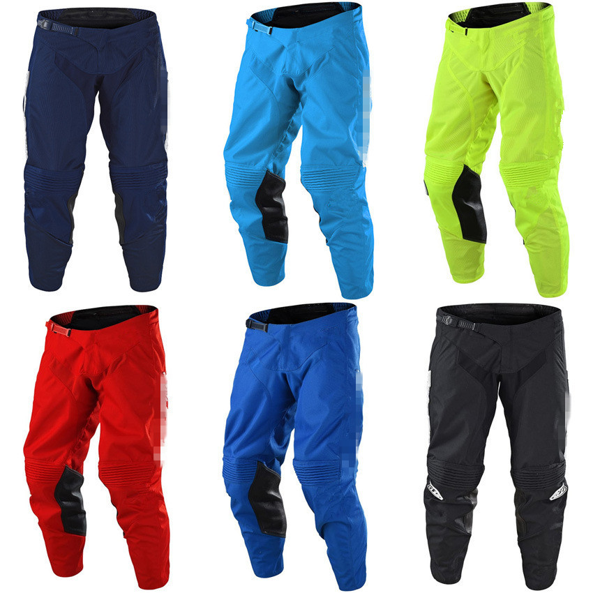 2019 New Men's Motorcyle Riding Pants AM Bicycle Outdoor Sports Downhill Pants With Hip Pad MX BMX Motocross DH MTB Pants