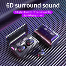 Binaural Call Led Digital Stereo Headset Mini Drahtlose Ohrhörer Bluetooth 5,0 Sport Headset 6d Surround Sound Gaming Headset #10(China)