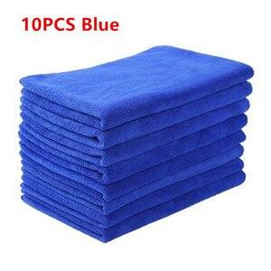 10 PCS Microfiber Car Cleaning