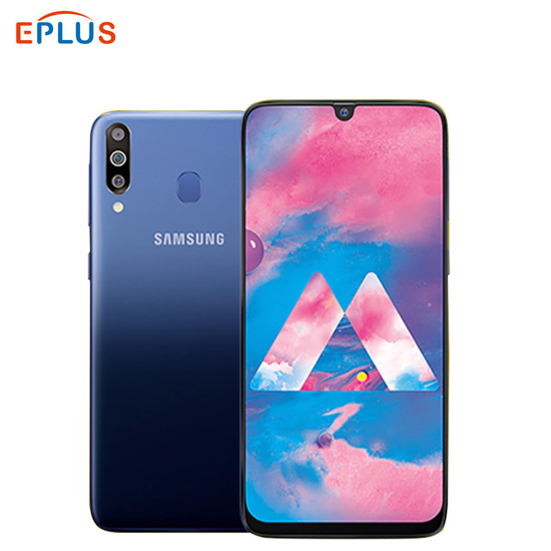 "Brand New Global Samsung Galaxy M30 M305F/DS Dual SIM Mobile Phone 5000mAh 6.4"" Exynos 7904 4GB 64GB 3 rear Camera 4G Smartphone