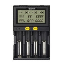 Li ion battery charger 18650 charger for 21700 18490 17670 R13650 17355 16340 AA battery