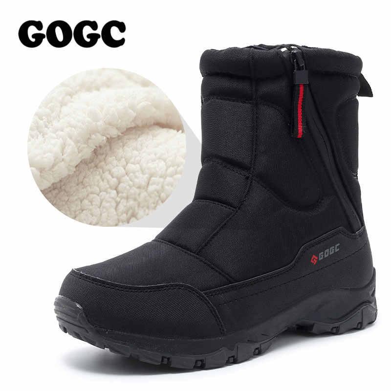 GOGC kadın çizmeler kadın kış çizmeler ayakkabı kadın kar botları bayan botları kışlık botlar kadın kış ayakkabı yarım çizmeler G9906
