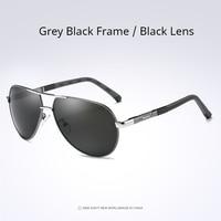 Grey Black- Black