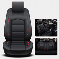 Universal car seat cover leather for honda accord 2003 2007 2018 honda civic 2018 crv jazz fit city Car accessories cay styling