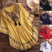 5 Color Fashion Lace Embroider Women Blouse Tops For Pregnant Women Maternity Shirts Sweatshirt Women's Blouse Women's Clothing