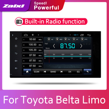 Car Android System IPS LCD Screen For Toyota Belta Limo 2005 2006 2007 2008 2009 2010 2012 2013 Car Radio Player GPS Navigation