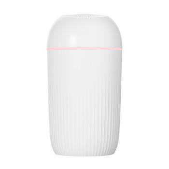 400ML USB cichy nawilżacz powietrza delikatne światło nocne rozpylacz zapachów ciągły przerywany Spray może pracować przez 8-12 godzin tanie i dobre opinie OUBBGLVS 1l Certyfikat LFGB ROHS SASO 36db CN (pochodzenie) Ulatniające się opary Aromaterapia Gospodarstw domowych