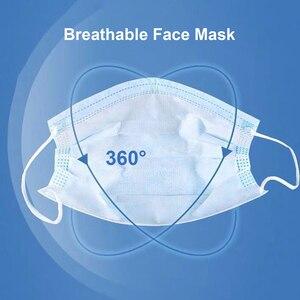 Image 3 - 50 шт маска одноразовая маска Нетканая ткань дышащая маска для лица