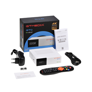 Image 5 - GTMedia GTC Android 6.0 TV BOX DVB S2/T2/C Amlogic S905D 2GB 16GB with free Cline for Europe Support M3U Set Top Box