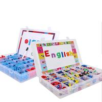 2 Styles Children's Early Education Toy Eva Uppercase Lowercase Letters English Magnetic Stickers Toy