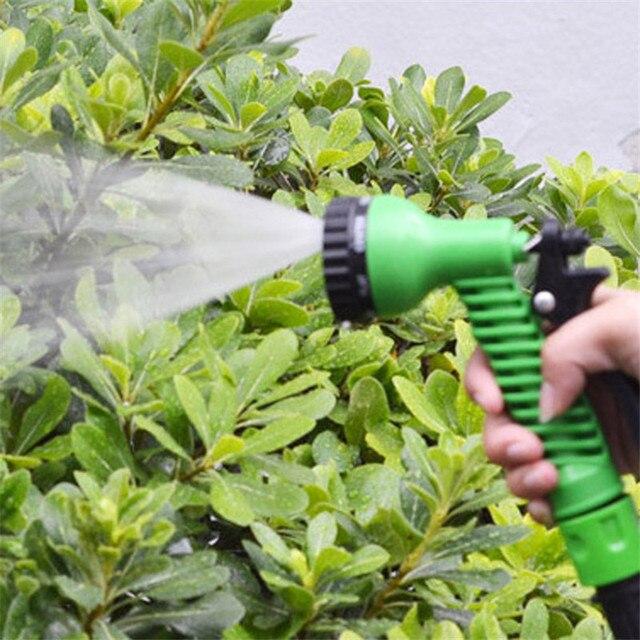 Купить гибкий садовый шланг с распылителем 5 375 м картинки цена