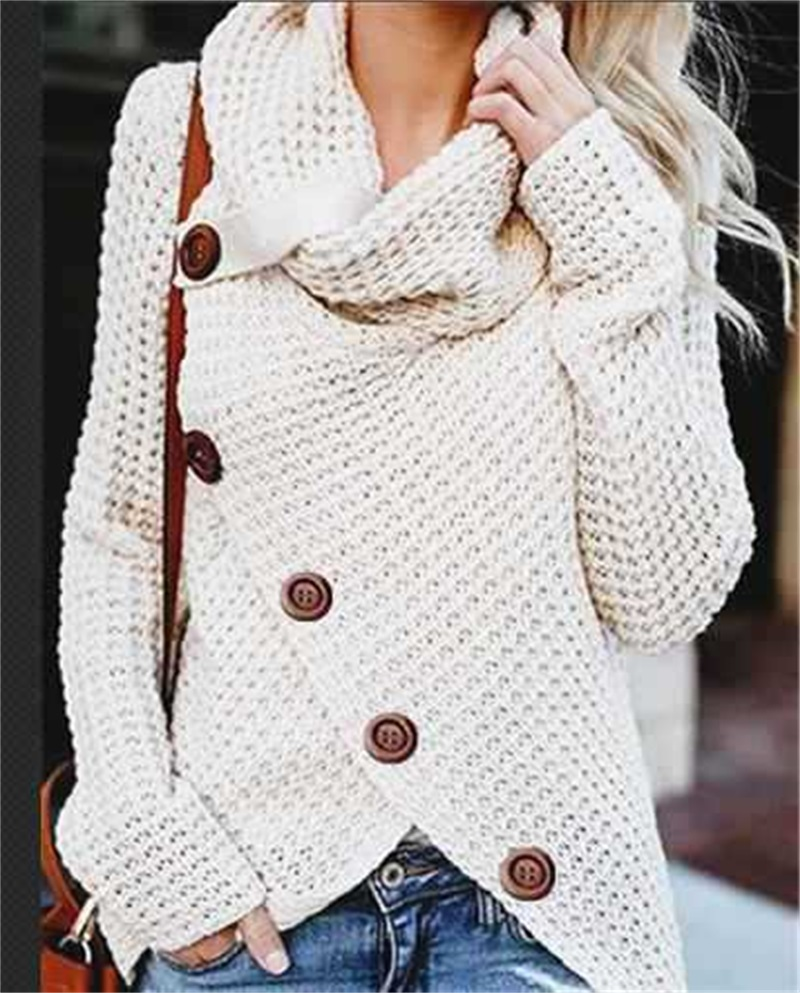 Sweater Woman Winter 2019 Woman Pullover Loose Sweater Women Long Sleeve Pullover Sweater Tops Female Casual Plus Size Sweaters