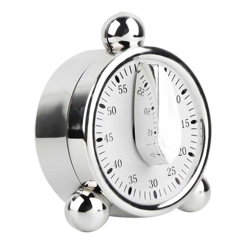 0-60 Minutes Mechanical Timer Countdown Reminder Alarm Kitchen Cooking Tools 3C