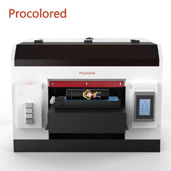 Nowa aktualizacja Procolored wielofunkcyjna platforma UV drukarka A3 maszyna drukarska do pokrywy telefonu butelka cylindra drukarki z drewna szklanego tanie i dobre opinie Przewodowy Drukarka atramentowa CN (pochodzenie) Auto 40ppm 100-240 v Do celów komercyjnych Drukarka fotograficzna 3min
