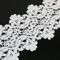 (2 meter/piece)10cm wide snow lace sewing accessories water-soluble lace ribbon
