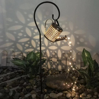 Lámpara Solar LED para decoración de jardín, cadena de luces decorativas, ornamentos para exteriores, Patio, jardín