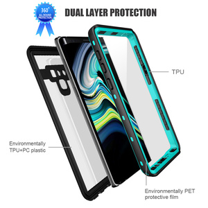 Image 5 - IP68 360 Full Protection Waterproof Phone Case for Samsung Note10 S10 S9 Plus Swimming diving Cover for S20 Note 10+ 9 8 Coque