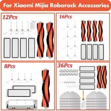 Hepa Filter Mop Rag Brush for Xiaomi Mijia 1s for Roborock S50 S55 S5 Max S6MaxV S6 Pure Accessories Robot Vacuum Cleaner Parts