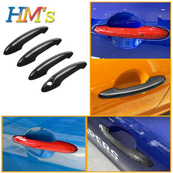 For MINI Cooper F56 JCW F55 F54 F57 Countryman F60 Clubman R55 R56 R60 Door Handle Sticker Cover Case For 2007/After Year Models